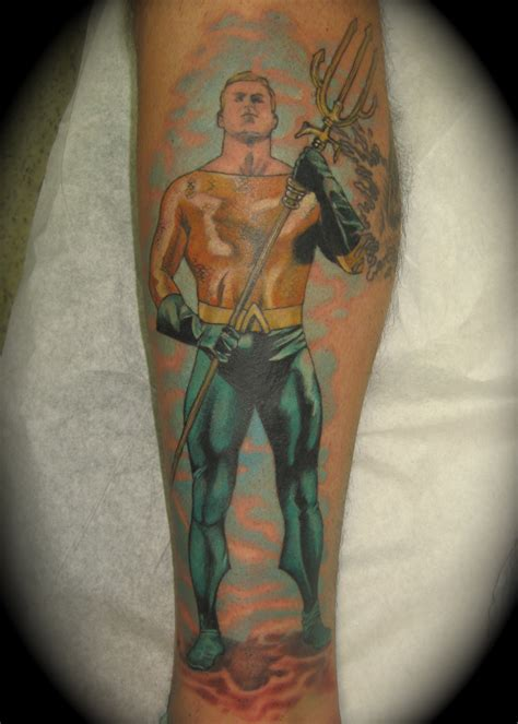 aquaman tattoo portfolio lew