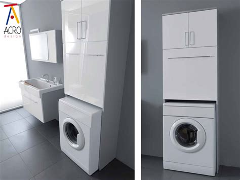 mobili bagno porta lavatrice porta lavatrice asciugatrice arredo lavanderia