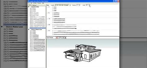 sketchup layout and style builder how to use style builder in google sketchup 171 software tips