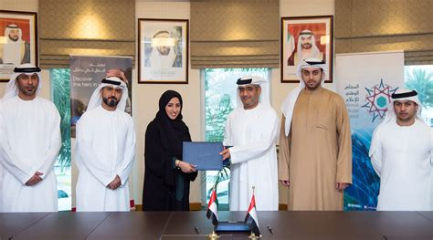 emirates youth foundation national media council signs mou with emirates foundation