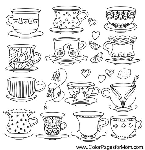 Coloring Pages For Adults Coffee Coloring Page 37 Coffee Cup Coloring Pages
