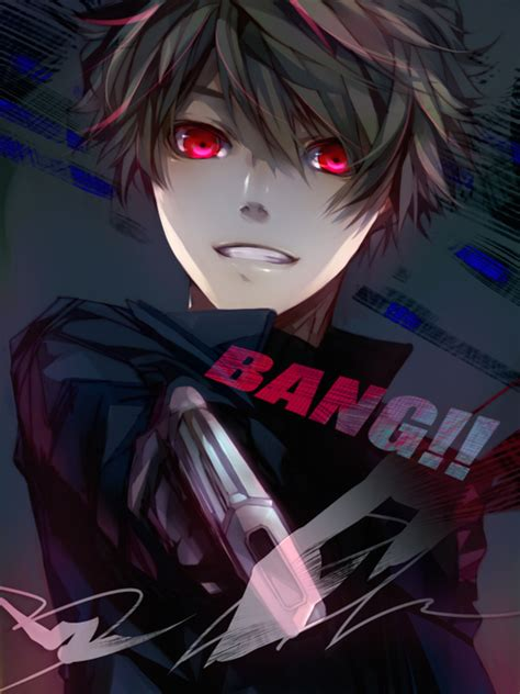 anime boy red eyes evil anime boy with black hair and red eyes www pixshark