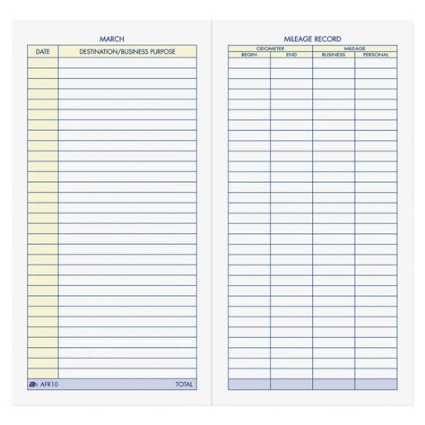 picture of log book vehicle mileage log book school specialty marketplace