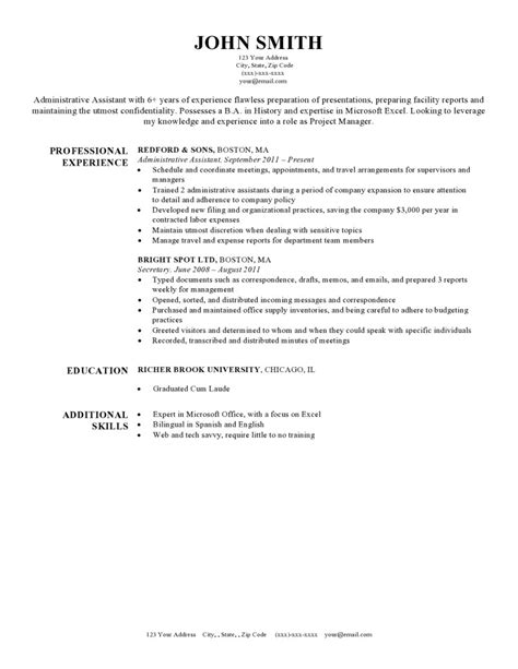 Resume Templets by Free Resume Templates For Word The Grid System
