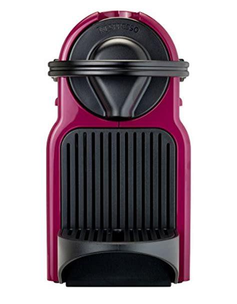 purple nespresso machine krups nespresso inissia capsule coffee machine fuchsia
