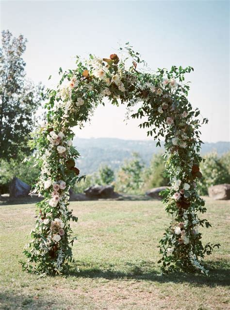 Wedding Arch Material by 25 Best Ideas About Wedding Arch Flowers On