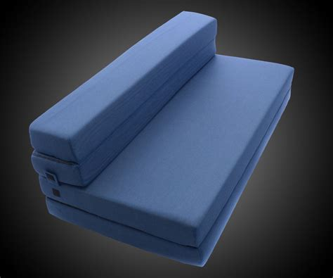 Foam Folding Bed Tri Fold Foam Folding Mattress Sofa Bed Dudeiwantthat
