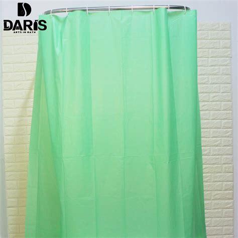 green shower curtain hooks sdarisbs plain plastic polyester shower curtain bathroom
