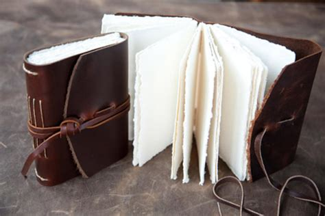 Poetic Earth Handmade Journals - handcrafted leather notebooks best notebook 2017