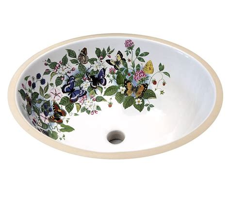floral bathroom sinks 34 best floral hand painted sinks toilets images on