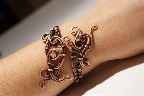 Handmade Wire Bracelets - copper bracelet copper wire jewelry handmade bracelet wire
