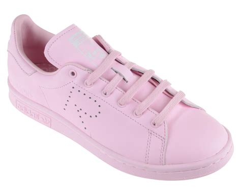 adidas by raf simons stan smith leather sneakers in pink lyst