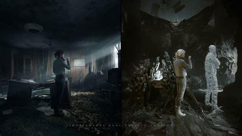 medium gameplay trailer showcases dual reality mechanics