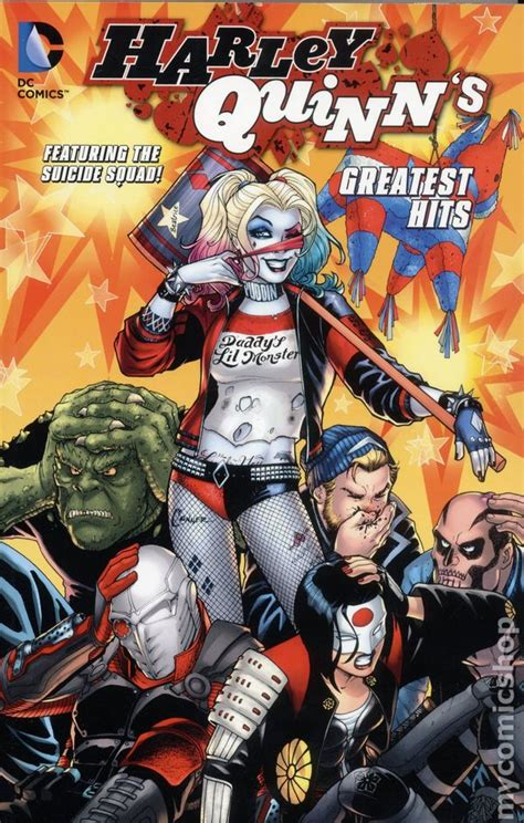 harley quinn at high dc books harley quinn s greatest hits tpb 2016 dc featuring the