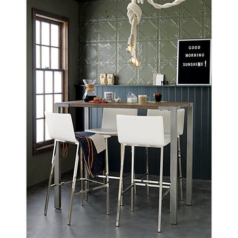 High Table And Stools For Kitchen What Bar Stools Would Work With This High Bar Table