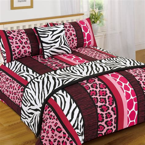 animal print bed linen leopard animal print serengeti bed in a bag duvet quilt