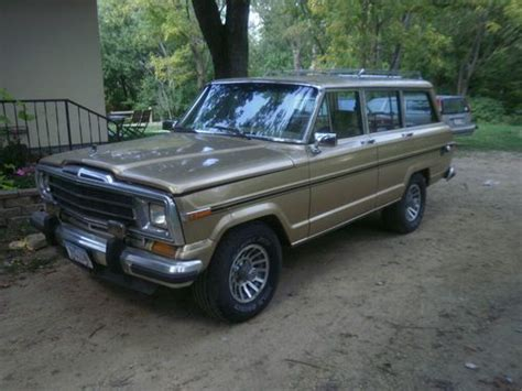 1989 Jeep Grand Buy Used 1989 Jeep Grand Wagoneer Base Sport Utility 4
