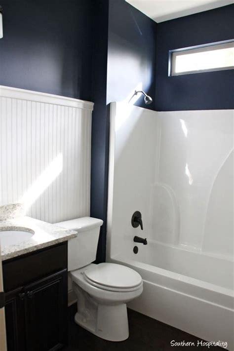 navy and white bathroom navy bathroom decorating ideas