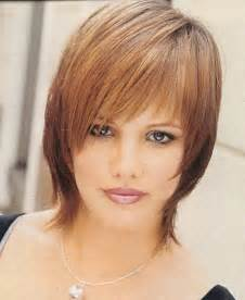 haircuts for with thin faces short hairstyles for round fat faces and thin hair
