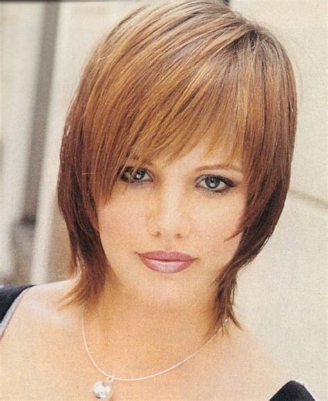 haircuts for thin hair chubby face short hairstyles for round fat faces and thin hair