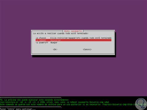 tutorial clonezilla linux c 243 mo clonar disco con clonezilla en ubuntu linux solvetic