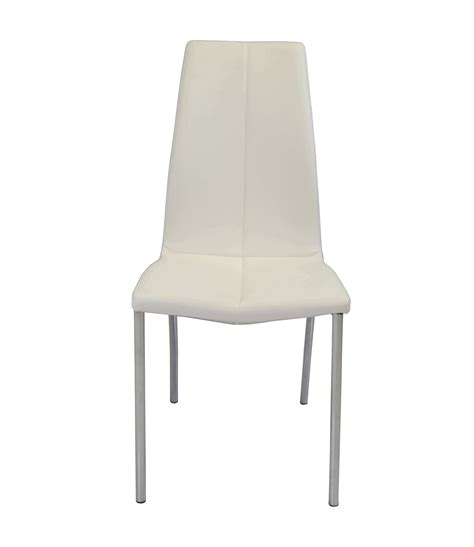 upholstery supplies manchester modern faux leather dining chairs coaster furniture