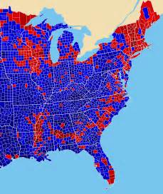 Election Maps by Total Number Of Votes In 2016 Presidential Election