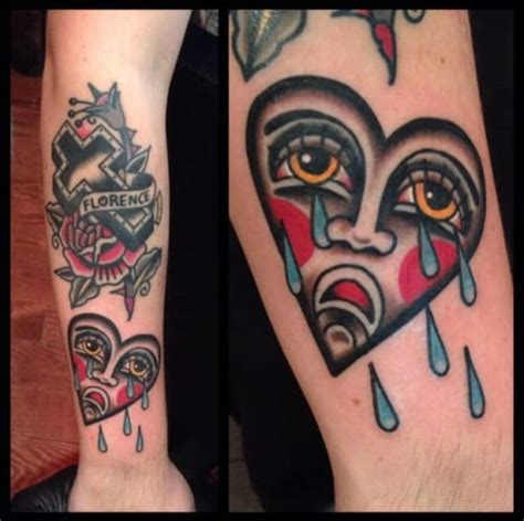 crying heart tattoo 10 timeless tattoos tattoodo