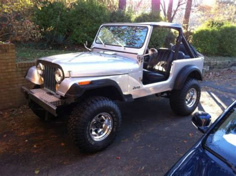 Jeep Cj7 Wheels And Tires Find Used 1984 Jeep Cj 7 New Wheels And Tires And
