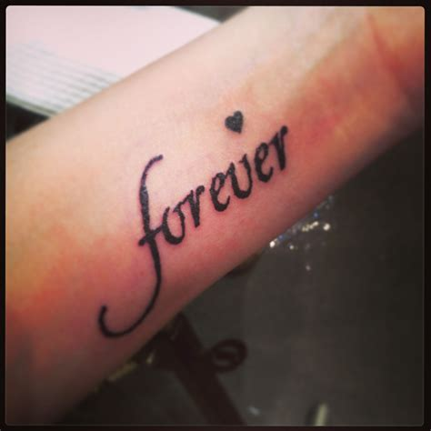 forever and always tattoo tattoos live forever pictures to pin on tattooskid