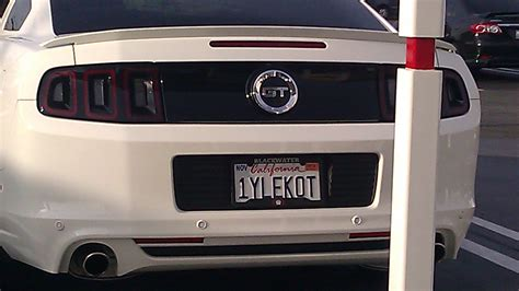 Great Vanity Plate Ideas by Vanity Plates Page 4 The Mustang Source Ford Mustang Forums