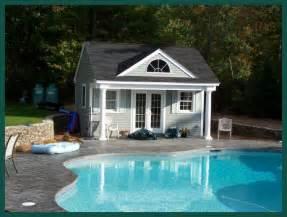 Small Pool House Farmhouse Plans Pool House