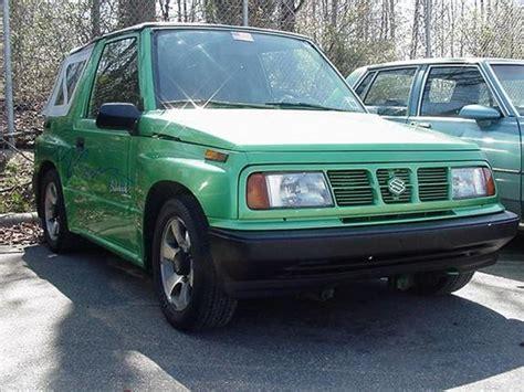 1995 Suzuki Sidekick Specs Feelnlow 1995 Suzuki Sidekick Specs Photos Modification