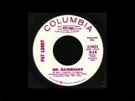Columbus Divorce Records Pat Lundy Mr Rainmaker Columbia Records 1968
