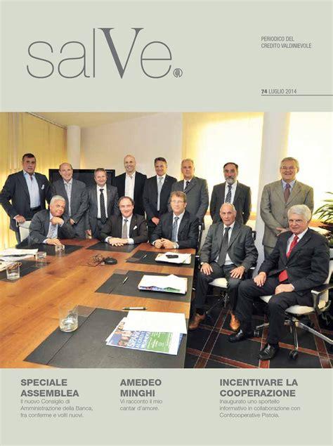 di credito cooperativo valdinievole issuu salve n 74 luglio 2014 by credito valdinievole