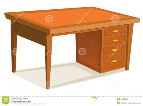 office desk stock vector image of interior store