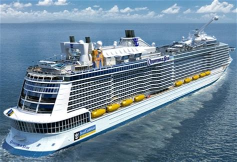 royal caribbeans newest ship new cruise ships 2016 2025 construction orders cruisemapper