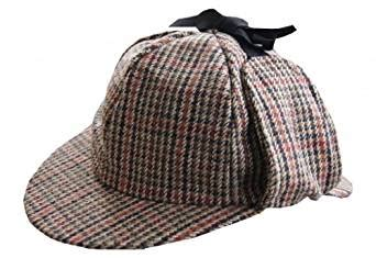 sherlock tweed deer stalker hat co uk