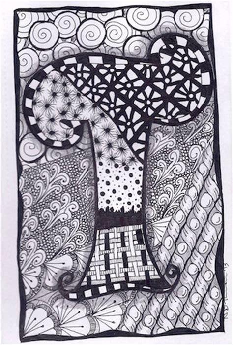 zentangle zebra pattern zentangle letter t zebra letters name bunting