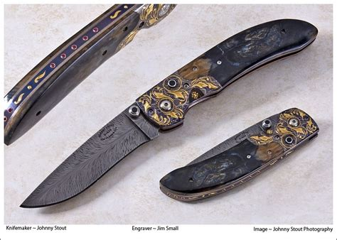 Handmade Knife Makers - custom made the zodiac by johnny stout custom made knives