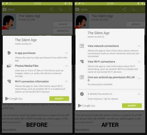 Play Store Xposed Fix The New Play Store Permissions System Using Xposed