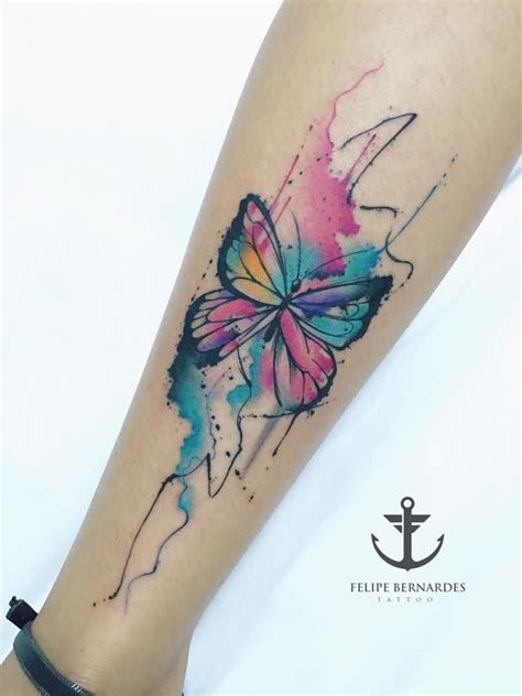 Leg Colorful collection of 25 colorful butterflies leg designs