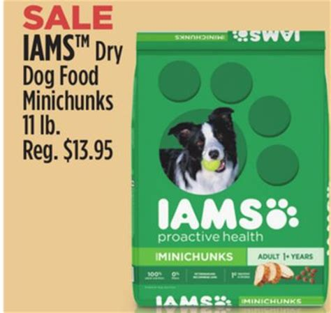 dog food coupons dollar general dollar general iams dog food 11 lb for as low as 8 95