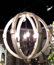 wood sphere chandelier fantasticdecor home garden accents