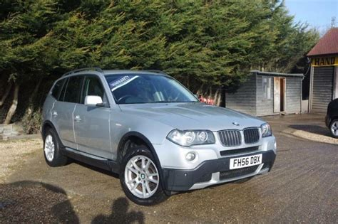 2006 bmw x3 3 0 i bmw x3 2 0 d se silver manual diesel 2006 in warboys