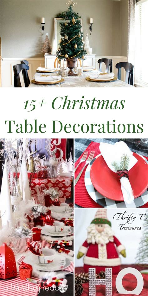 15 christmas table decorations thrifty t s treasures