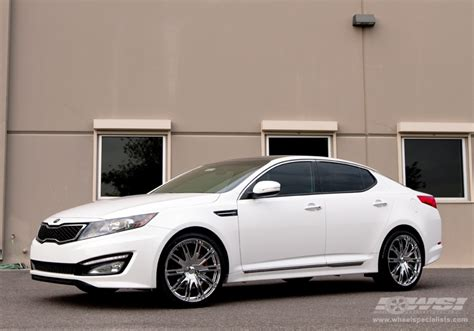 Kia Optima Wheel Size Kia Optima Custom Wheels Enkei Majesty 20x Et Tire Size