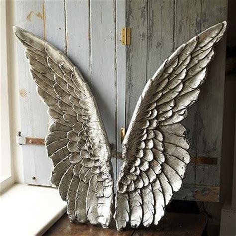angels home decor pottery barn carved angel wings the best home decor