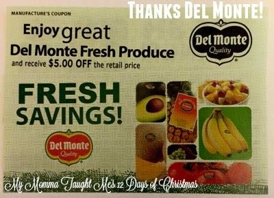 del monte fresh produce enter to win del monte fresh produce coupons my momma