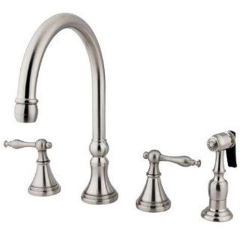 4 piece kitchen faucet satin nickel european style 4 piece kitchen faucet